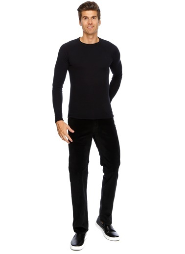 Lee&Wrangler Wrangler Klasik Pantolon Siyah